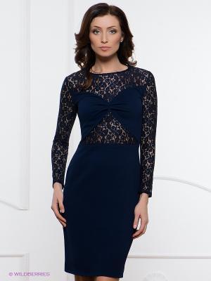 Платье Festival. Цвет: темно-синий