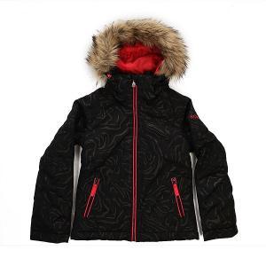 Куртка детская  Jet Ski True Black Roxy. Цвет: черный