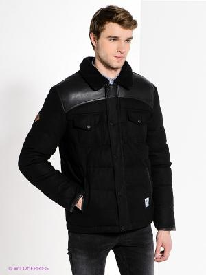 Куртка Bellfield. Цвет: черный
