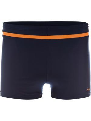 Плавки JOSS. Цвет: синий, оранжевый