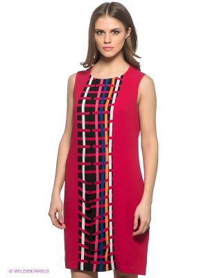 Платье SAVAGE. Цвет: малиновый