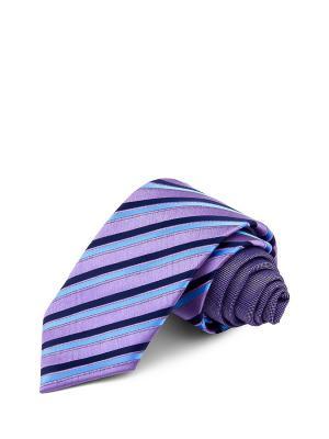 Галстуки CASINO. Цвет: темно-синий, голубой, сиреневый