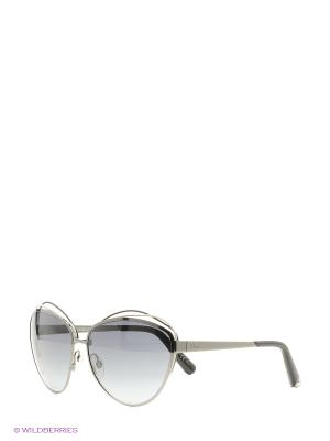 Солнцезащитные очки CHRISTIAN DIOR. Цвет: черный, серый