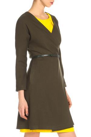 Тренчкот AFFARI. Цвет: темно-зеленый