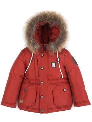 Куртка Pulka. Цвет: темно-красный