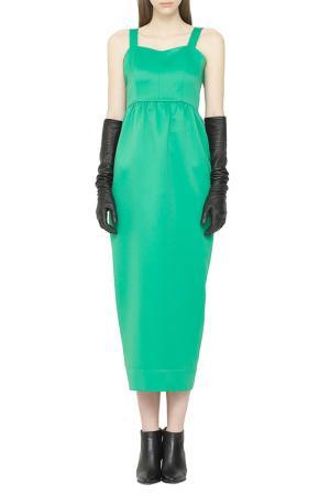 Платье Cyrille Gassiline. Цвет: светло-зеленый