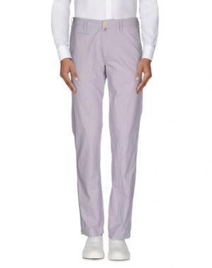 Повседневные брюки JAGGY. Цвет: сиреневый