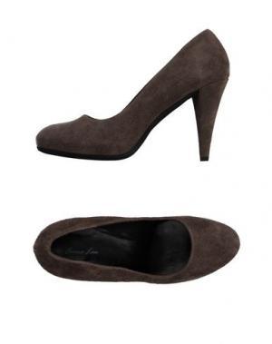 Туфли EMMA LOU. Цвет: серый