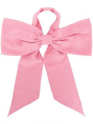 Шарф с завязками на бант Racil. Цвет: розовый и фиолетовый
