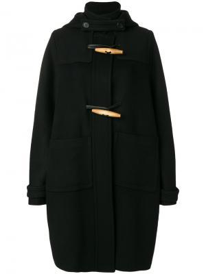 Пальто свободного кроя Marni. Цвет: чёрный
