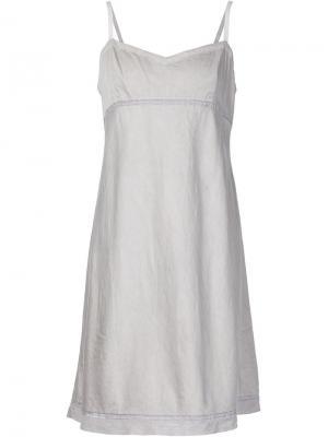Платье Kymber Dosa. Цвет: серый