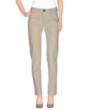 Повседневные брюки NINE:INTHE:MORNING. Цвет: бежевый