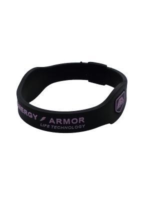 Браслет Energy Armor Black/Pink Energyarmor. Цвет: черный