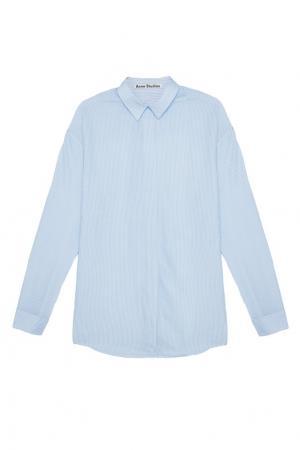 Блузка в полоску Acne Studios. Цвет: none