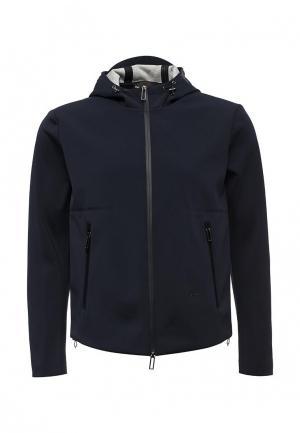 Куртка Emporio Armani. Цвет: синий