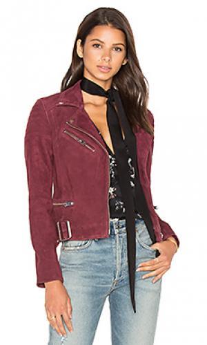 Куртка laetica LAMARQUE. Цвет: вишня