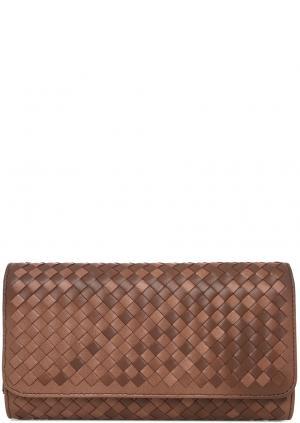 Клатч Carla C. Цвет: коричневый