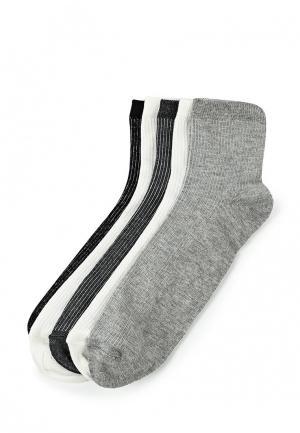Комплект носков 5 пар Topman. Цвет: разноцветный