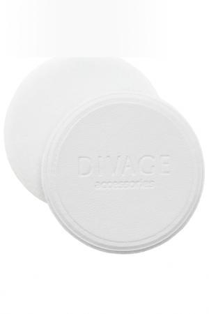 Спонж для пудры Divage. Цвет: белый