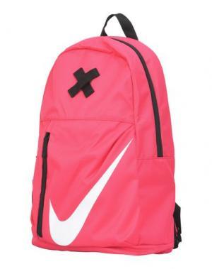 Рюкзаки и сумки на пояс NIKE. Цвет: фуксия
