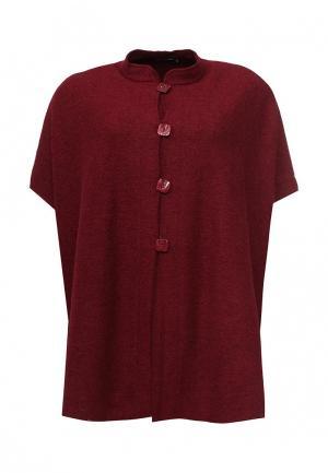 Пальто Lina. Цвет: бордовый