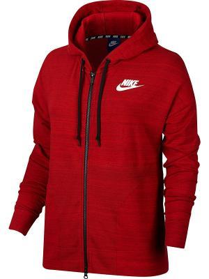Куртка W NSW AV15 JKT KNT Nike. Цвет: красный, белый