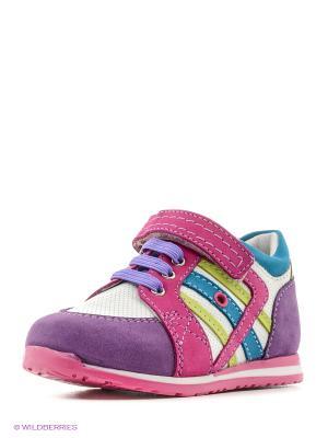 Кроссовки ELEGAMI. Цвет: фиолетовый