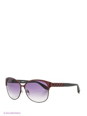 Солнцезащитные очки BLD 1610 103 Baldinini. Цвет: малиновый, черный