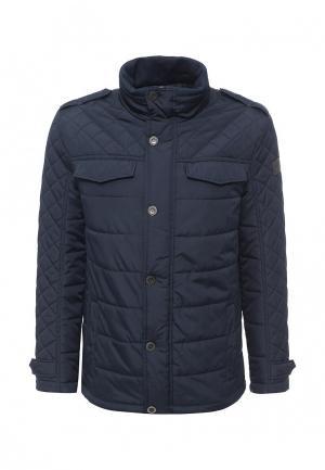 Куртка утепленная Finn Flare. Цвет: синий
