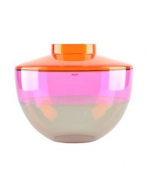 Ваза KARTELL. Цвет: оранжевый