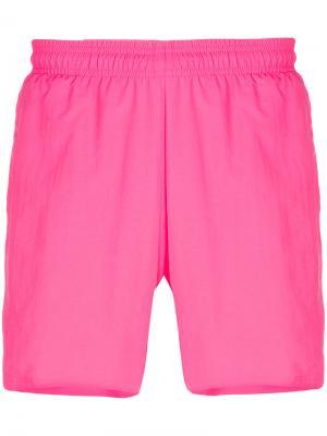 Спортивные шорты Gosha Rubchinskiy. Цвет: розовый и фиолетовый