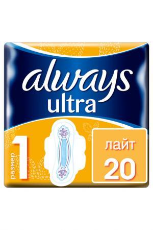 Гигиенические прокладки, 20 шт ALWAYS. Цвет: none