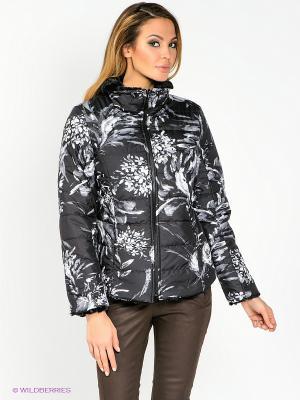 Куртка WEGA. Цвет: черный, белый