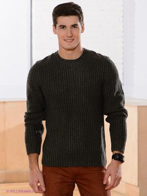 Джемпер Frankford Shoulder Yoke Knit Jeanswest. Цвет: серо-зеленый