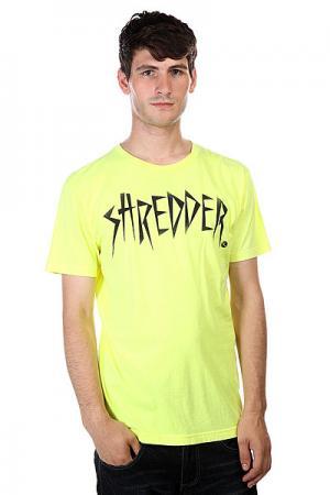 Футболка  Shredder Nyl Lost. Цвет: желтый
