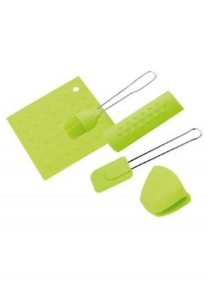 Набор кухонных принадлежностей (5 пр.) CALVE. Цвет: зеленый