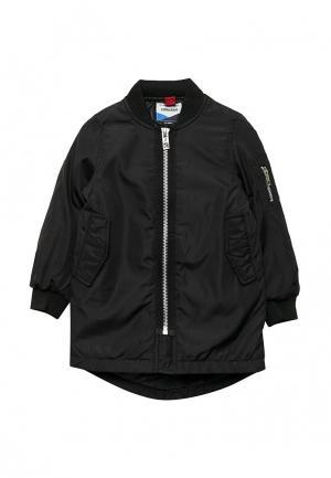 Куртка утепленная Piazza Italia. Цвет: черный