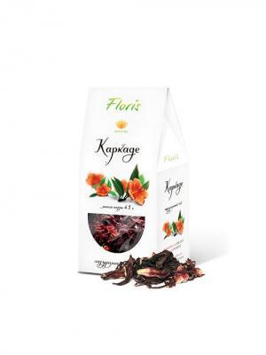 Floris натуральный крымский чай каркаде, 45 гр. Цвет: белый
