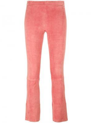 Брюки Maxime Stouls. Цвет: розовый и фиолетовый