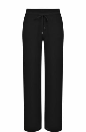 Широкие кашемировые брюки с карманами Loro Piana. Цвет: темно-серый