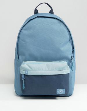 Parkland Синий винтажный рюкзак колор блок на 25 литров. Цвет: красный