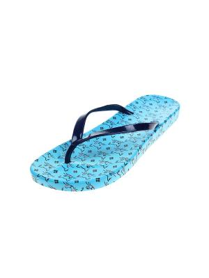 Шлепанцы Migura. Цвет: голубой, синий