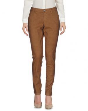 Повседневные брюки RE-HASH. Цвет: верблюжий