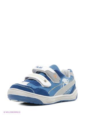 Ботинки Flamingo. Цвет: синий, голубой, белый
