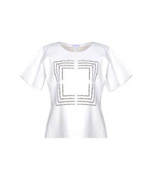 Блузка JITROIS. Цвет: белый