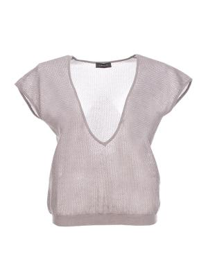 Пуловер Cappellini. Цвет: темно-бежевый