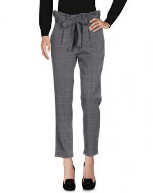 Повседневные брюки MICHELA MII. Цвет: свинцово-серый