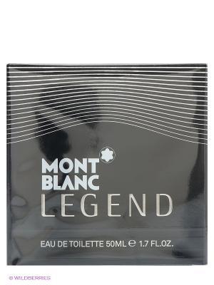 Туалетная вода LEGEND FOR MEN муж. 50 мл спрей Montblanc. Цвет: черный
