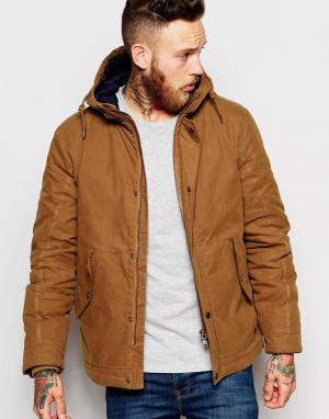 Parka London Куртка Kristoffer. Цвет: рыжий