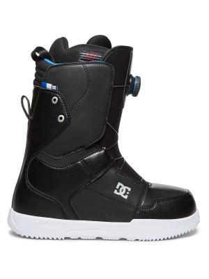 Ботинки сноубордические DC Shoes. Цвет: темно-серый, антрацитовый, белый